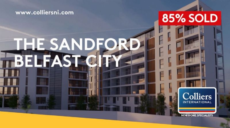 SANDFORD | BELFAST CITY CENTRE | ONLY 2 REMAINING