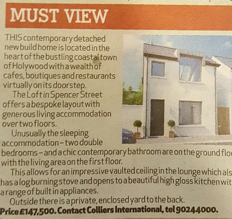 THE LOFT - NEW TO THE MARKET