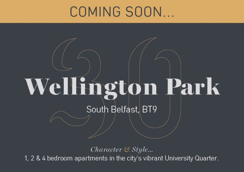 COMING SOON - 30 WELLINGTON PARK, SOUTH BELFAST