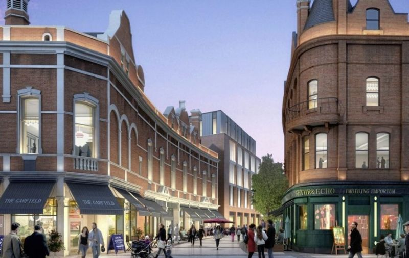 First Images Of Castlebrooke Investment's Garfield & North Building Revealed